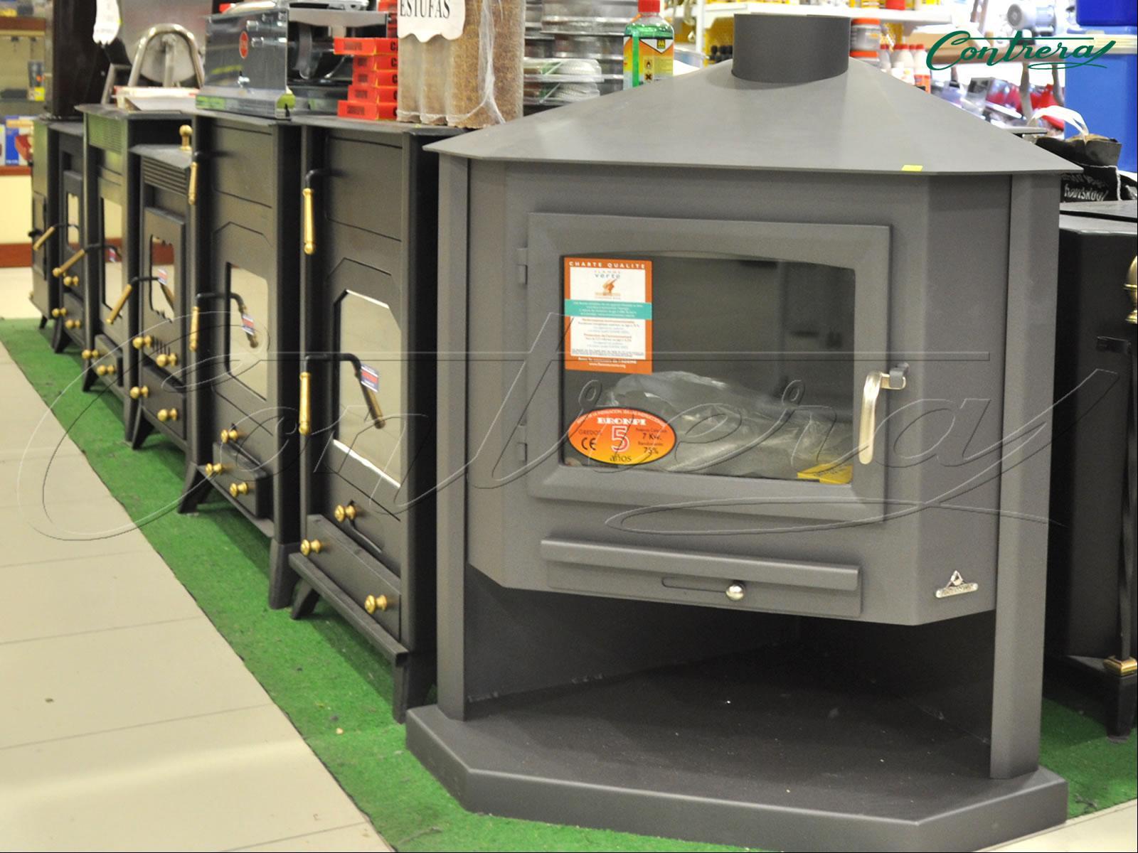 Estufas radiadores - Estufa lena calefaccion radiadores ...