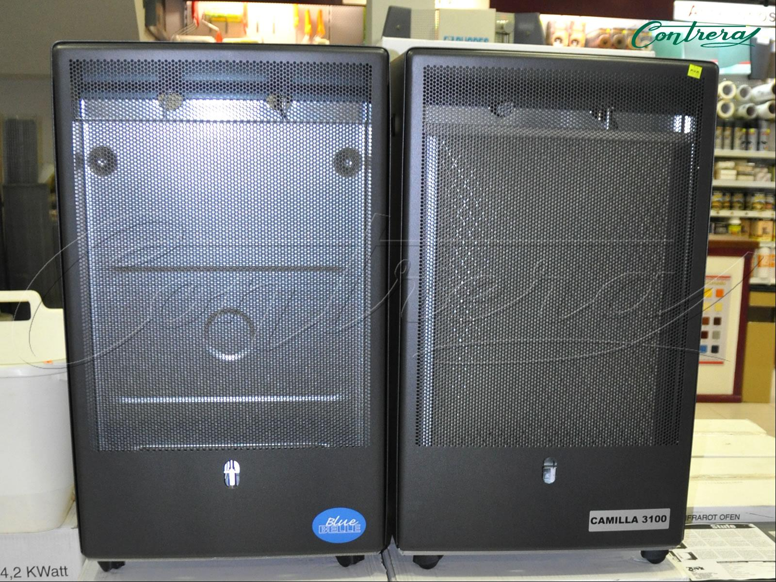 Estufas radiadores for Estufa lena calefaccion radiadores